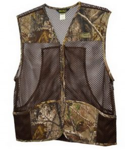 HUNTING VEST WITH POLYESTER FABRIC