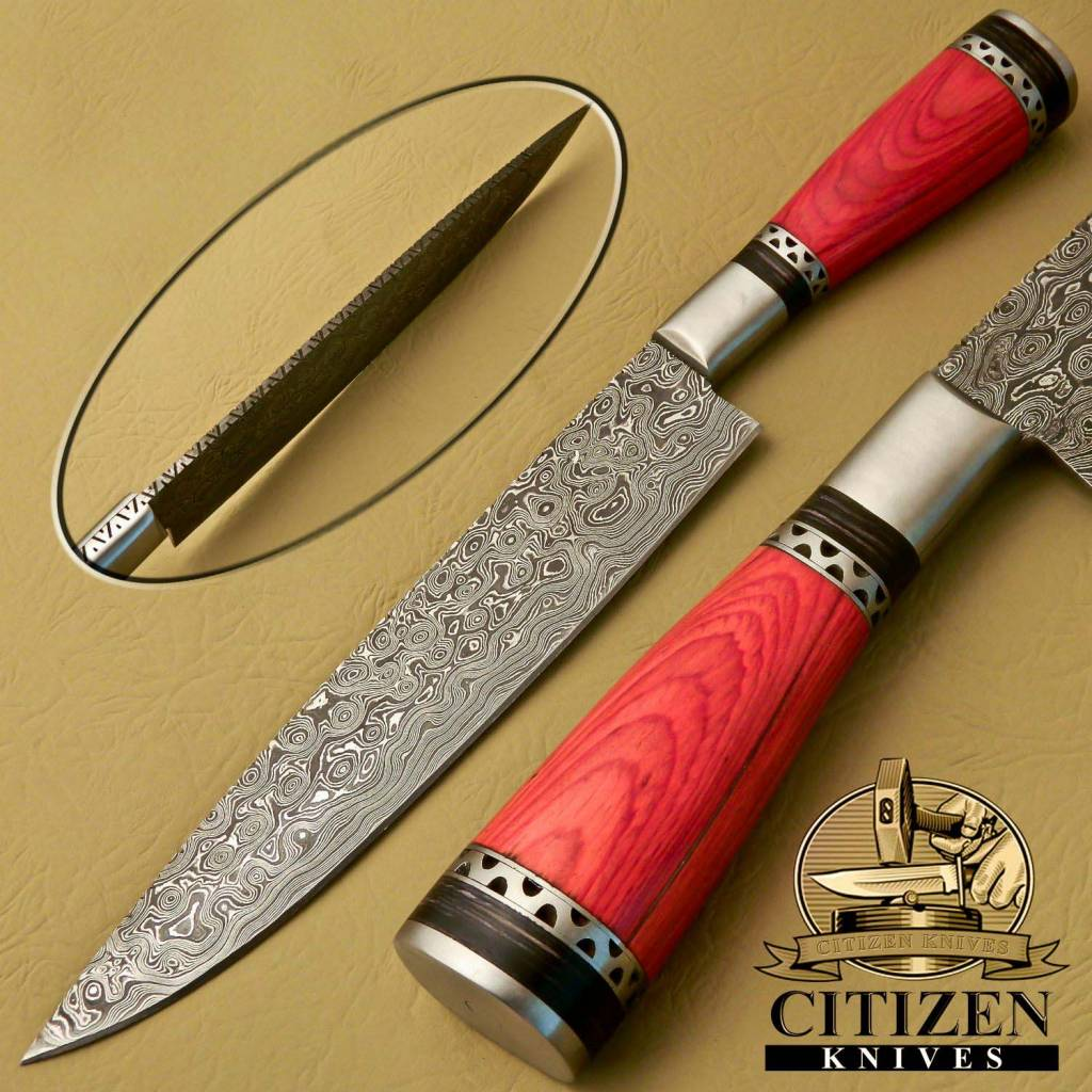 Damascus Steel Chef Knives