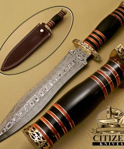 DAMASCUS STEEL DAGGER KNIVES