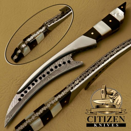 DAMASCUS STEEL SKINNER KNIVES