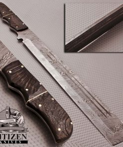 DAMASCUS SWORD KNIFE