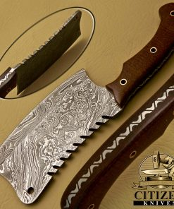 DAMASCUS STEEL CHOPPER KNIFE