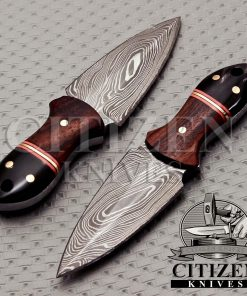 DAMASCUS STEEL MINIATURE KNIFE