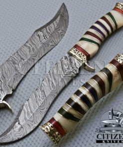J-2 STEEL HUNTING BOWIE KNIFE