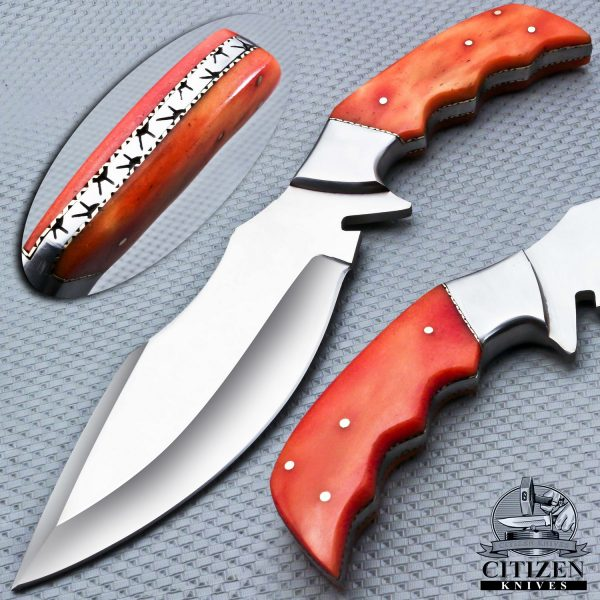 J-2 STEEL FORGED HUNTING BOWIE KNIFE 1